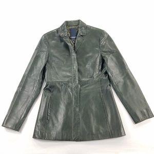 Escada Sport Blazer Jacket Soft Lamb Happa Leather